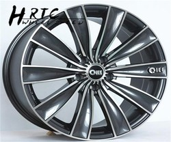 2015 new design 18 inch replica car alloy wheel rim with 4 holes or 5 holes