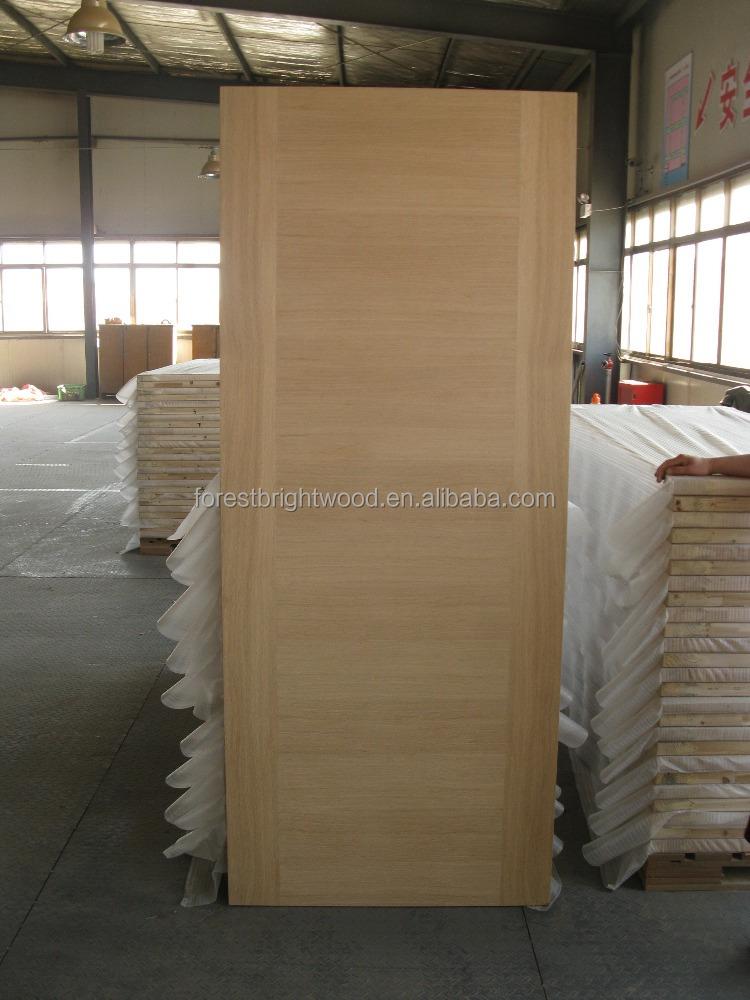 Simple Design Solid Wood Interior Door Flush Room Door