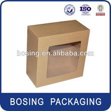 craft cake box with PVC window