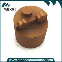 "2"" Concrete Diamond PCD Grinding Puck for Removal Epoxy, Metal Floor PCD Abrasive Plug"