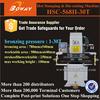 30T air over hydraulic reinforcement driving system die cutting press machine