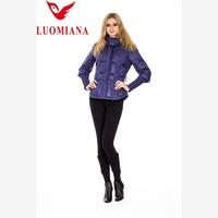 European new style high quality womens neoprene bomber jacket