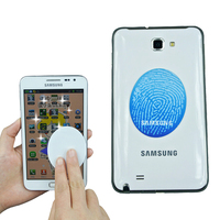 advertisement digital photo printing cell phone sticky cleaner