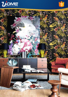 Uhome Latest European Designs china textile Wallpaper for weddings decoration 62101