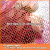 Plastic floral mesh wrap