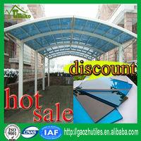 100% virgin GE SABIC uv blocking 4x8 sheet plastic polycarbonate sheet polycarbonate panel