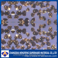 Synthetic black and amber cubic boron nitride powder