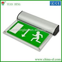 LED emergency exit sign ceiling mount light with CE RoHS YH-03S YH-03S