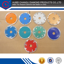 105mm 110mm 115mm Dry Cutting China Sharp Notch Diamond saw blades