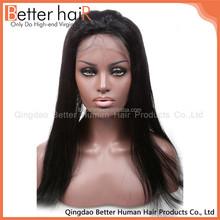 Super Beautiful no shedding 100 percent free wig catalogs
