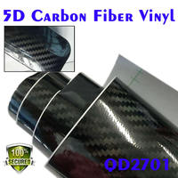Removeable glue with high quality 5D carbon fiber 1.52*30 meter DEREK factory new product