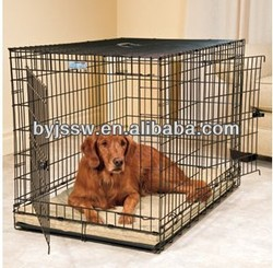 Metal welded wire dog cage kennel Designer