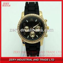 R0481 ZERY fashion mens watch excellence quartz, alloy silicone mens watch excellence quartz