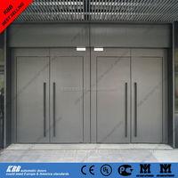 Double open swing door for supermarket/commercial building