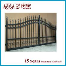 Backyard Iron gate and Iron fancy gate /iron gates models