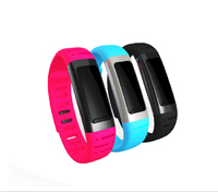 Waterproof Pedometer Bluetooth bracelet Smart Watch for HTC/Sony phone