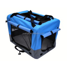 Outdoor dog kennel fabric pet carrier cages houses