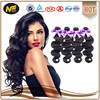 most popular hot selling 8a 7a 6a 5a grade remy full cuticle double drawn natural color virgin Brazilian spring curl hair weave