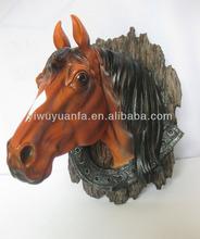2013 Hot Sale High Quality Resin Horse Head
