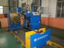 The Cantilevered Automatic Welding Machine with Three Torchs (MIG/TIG/SAW)