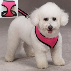 2015 New Breathable Air Mesh Material Puppy Dog Harness