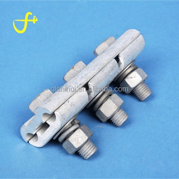 Stainless steel cable accessories parallel groove clamp