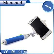 Mini Foldable Bluetooth Selfie Stick Extendable Wireless Monopod Handheld Self Portrait with Remote Shutter