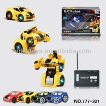 2014 New Toys!777-321 Wireless Can Be Out Of Robot Shape 2ch rc car