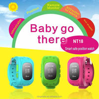 Ningmore GPS child watch NT18 with phone calling, kids cell phone watch with sos button, kids gps watch phone with monitoring