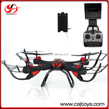 Newly 1327Pro SKY HAWKEYE Live Video quadcopter fpv quadcopter 5.8ghz transmitter With FPV monitor 720P camera