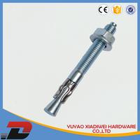 blue zinc plated anchor bolt torque limiting bolt