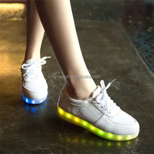 Led lights shine shoes luminous sole step of ghost dance shoes