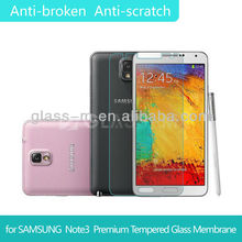 Hot Sale Product For Samsung Note3 Water-proof Tempered Glass Screen Guard