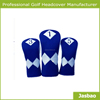 Customized Golf Driver Head Covers,brand Name Blue Driver Golf Head Covers