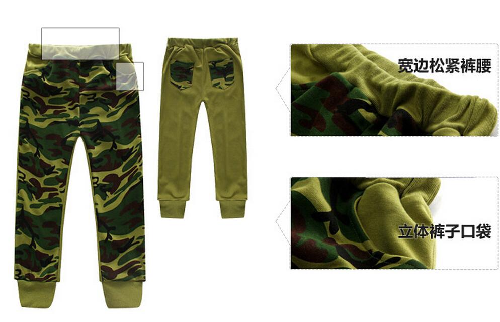 Скидки на Осень зима розничная детская одежда продавать , как мальчик из трех частей чистого хлопка камуфляж детских пиджак + t + брюки