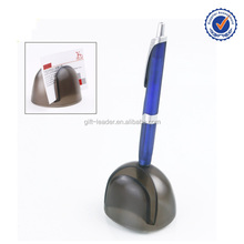 Pen holder with memo pad holder