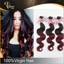 New Product No Shedding body wave virgin brazilian hair extension
