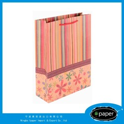 New design customized grocery shopping craft paper bag with great price