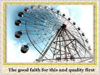 factory direct rides used amusement park rides ferris wheel for sale
