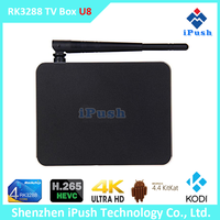 New arrival and Hot selling ! Quad Core U8 RK3288 Google Android TV Box