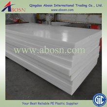10mm Thickness Natural White Plastic/High quality China UHMWPE&HDPE sheet manufacturer
