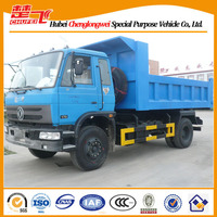 Truck dump Dongfeng 4X2 sand tipper 10 ton light truck