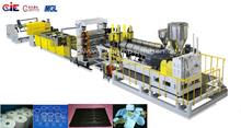 PP/PS SHEET PASTIC ExtruDER MACHINE