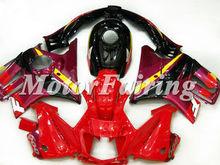 cbr 600 95-96 1995 1996 fairings for cbr600 f3 cbr 600 f3 BODY kit Red Black