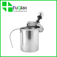 OEM Service Customed Logo Kitchen Appliances Milk Coffee Makers stainless steel manual milk frother