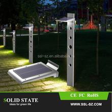 2015 hot products 250LM motion sensor outdoor 46 LED solar garden lights