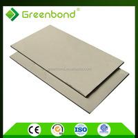 Greenbond decorative wood cladding fireproof board material acm panel