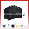 HC-A359 Black duffel trolley bag with business card holder