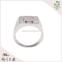 Fashion Diamond New Arrival Charm Cheap Silver Ring