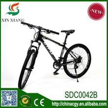 Double disc brakes aluminium alloy frames road bike , 26 inch 21speed high quality carbon steel frame mountain bike